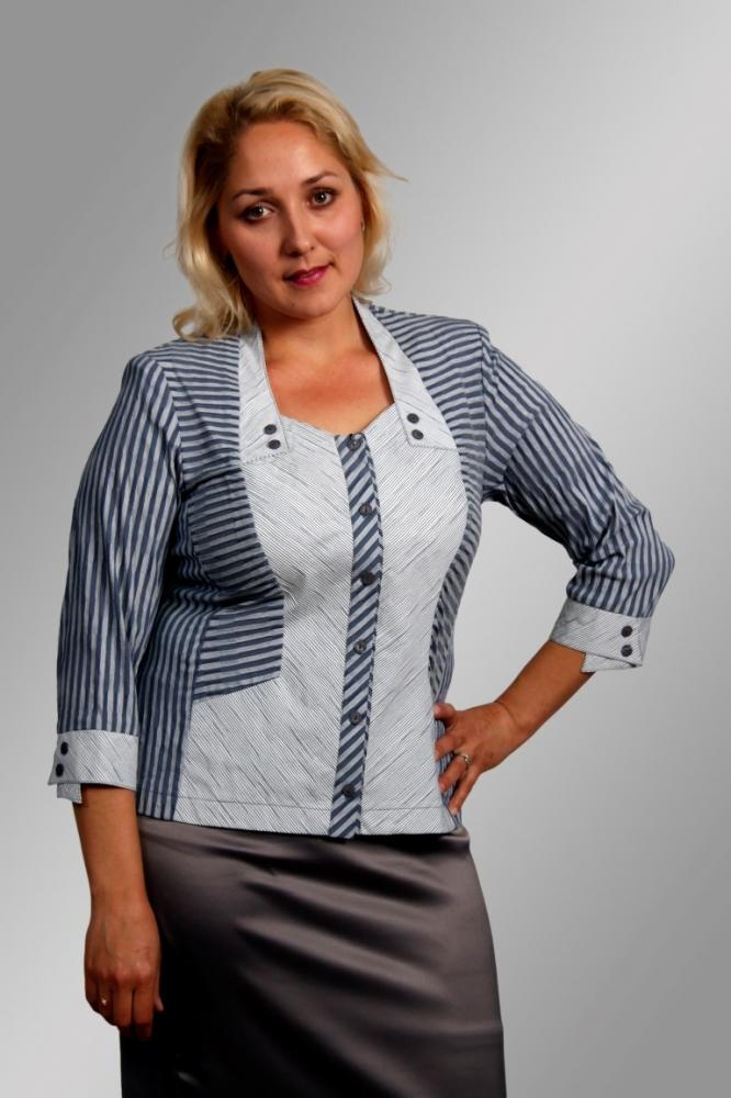 Блузка Симона 3-1 фото