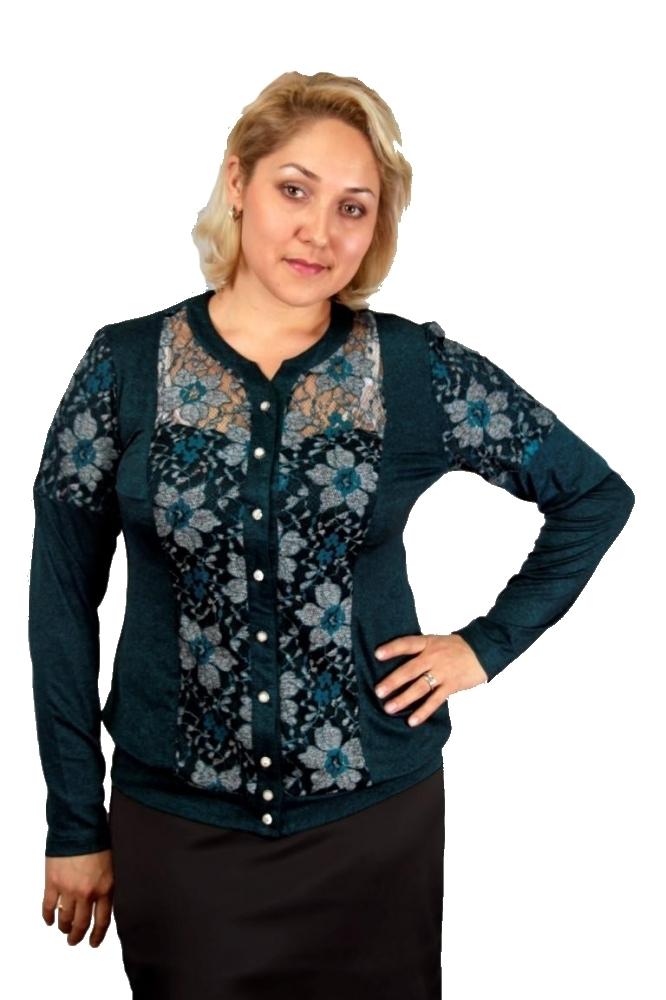 Блузка Офелия 1-3 фото