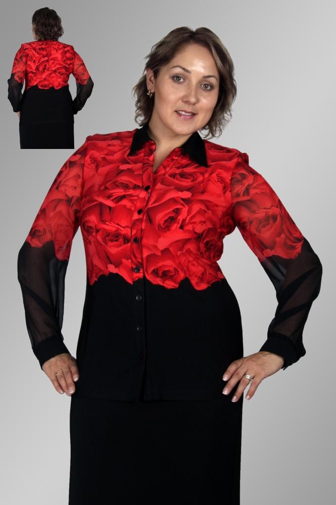 Блузка Инесса 1-1 фото