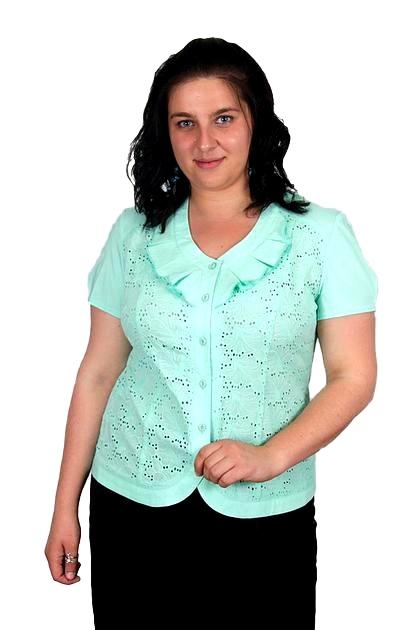 Блузка Анжелика 6к-4 фото