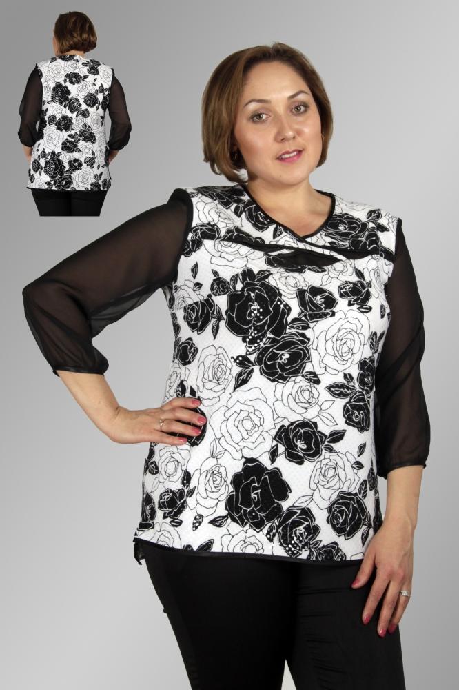 Блузка Шарли 1-1 фото