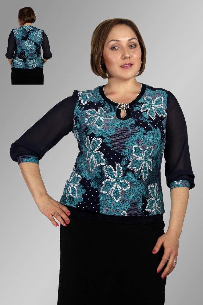 Блузка Клауди 2-1 фото