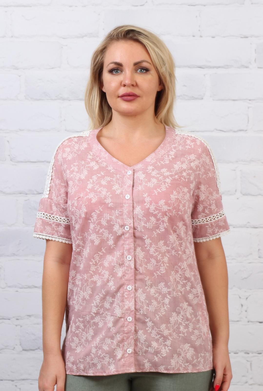 Блузка Кармен 1к-1 фото