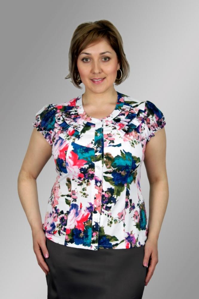 Блузка Гламур 2к-1 фото