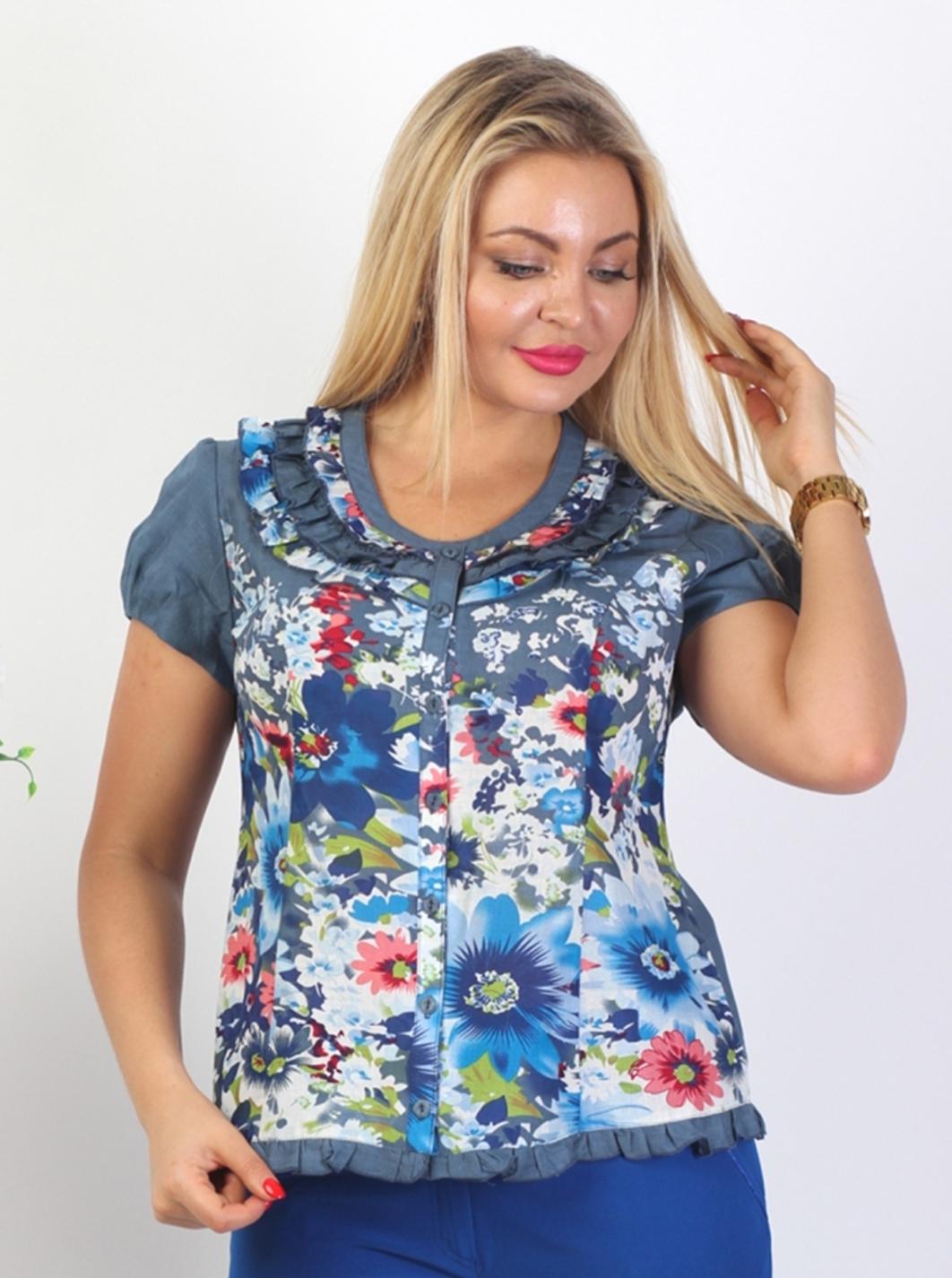 Блузка Шанель 4к-1 фото