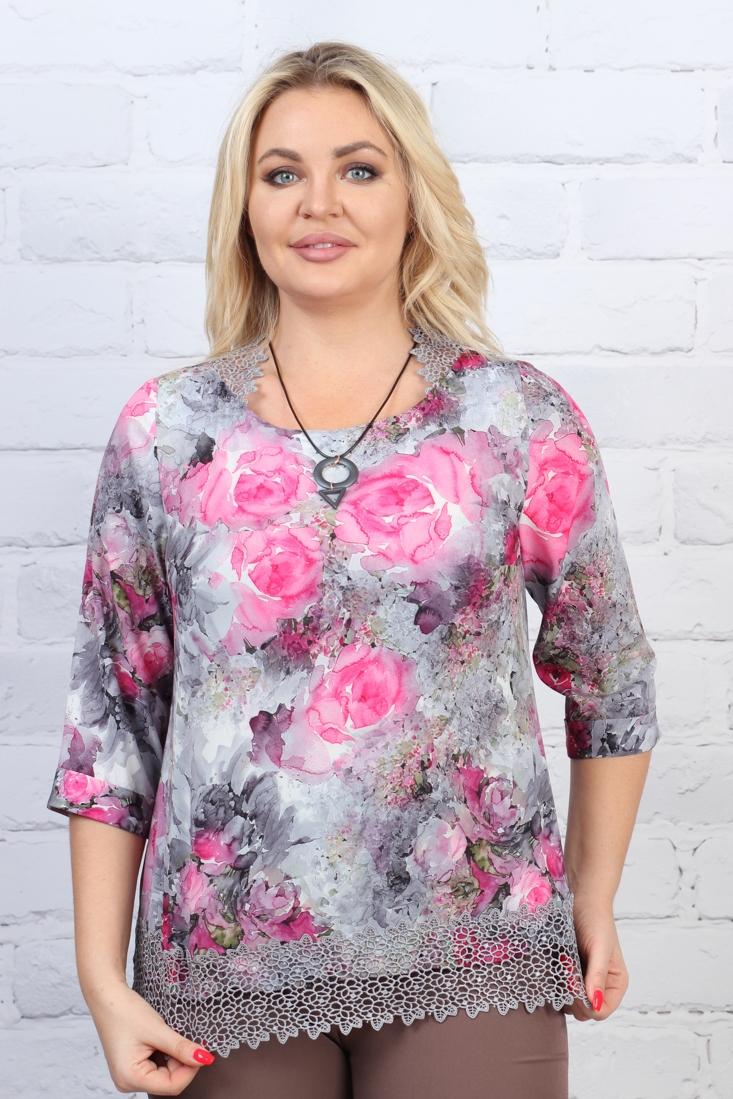 Блузка Лоран 3-4 фото
