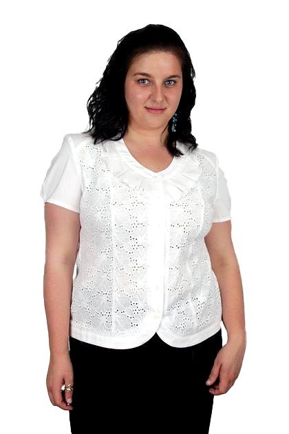 Блузка Анжелика 6к-2 фото
