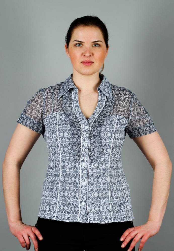 Блузка Дорис 1к-7 фото