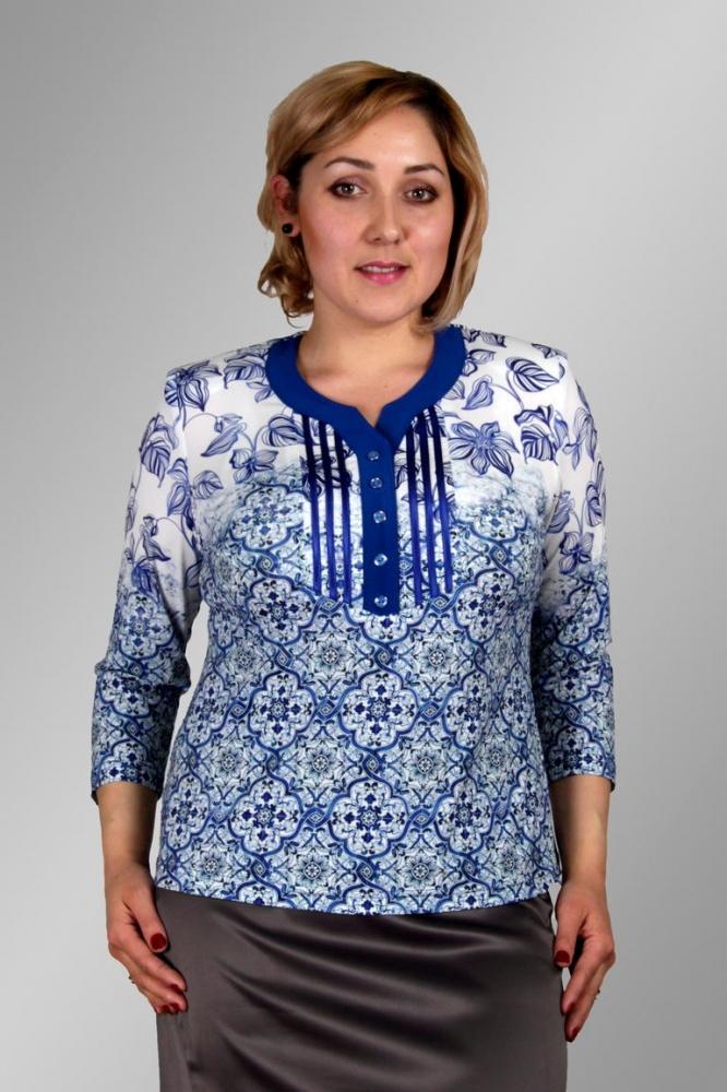Блузка Галина 1-3 фото