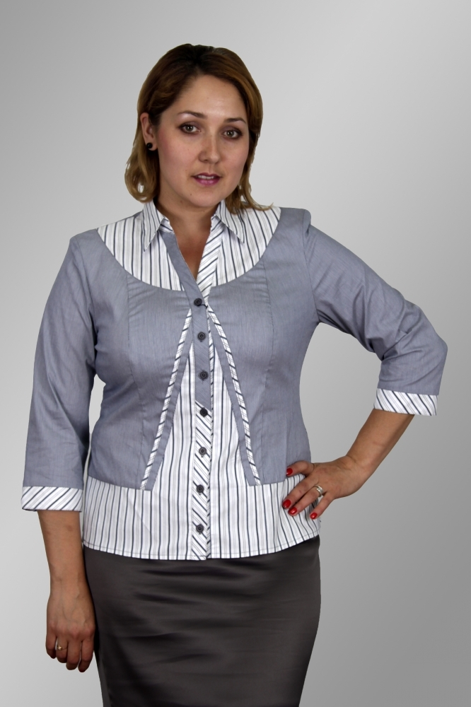 Блузка Медея 2-1 фото