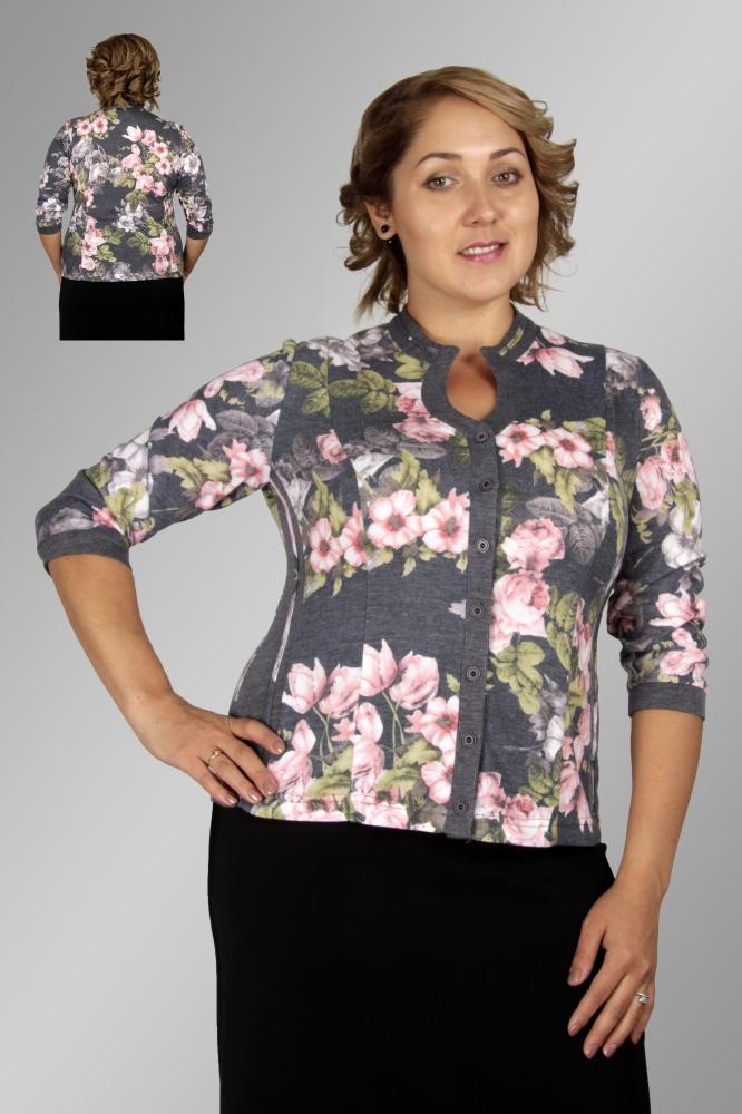 Блузка Камелия 1-9 фото
