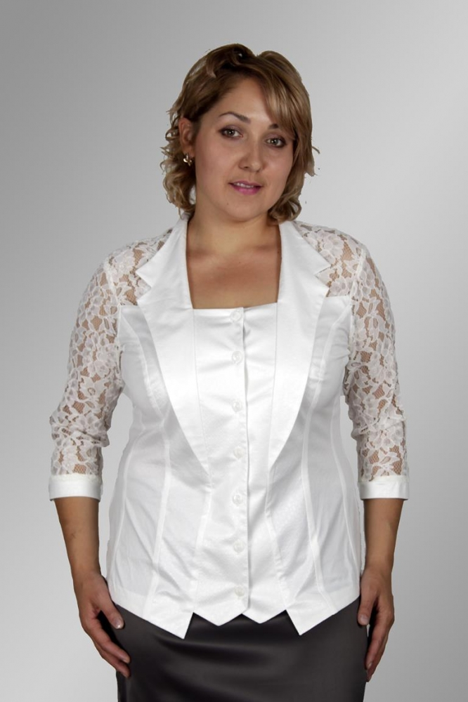 Блузка Иллария 1-3 фото