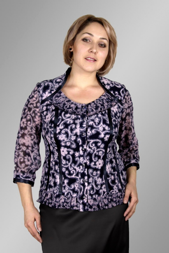 Блузка Оникс 1-17 фото