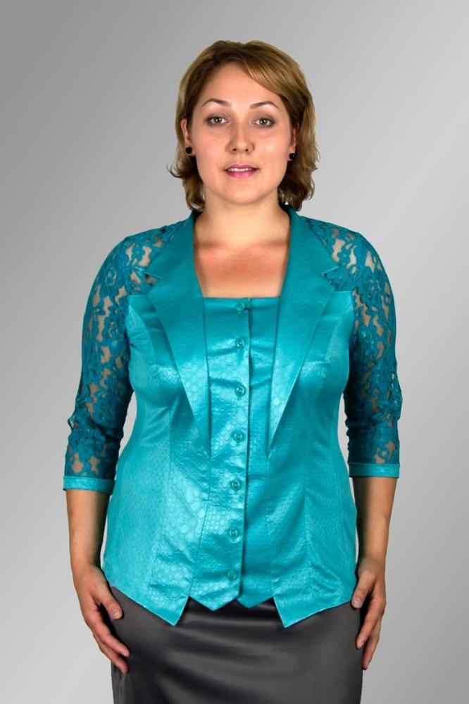Блузка Иллария 1-1 фото
