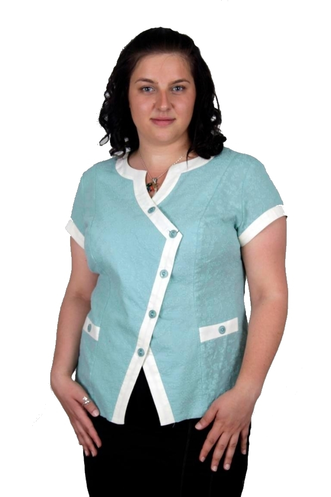 Блузка Кларисса 2к-1 фото