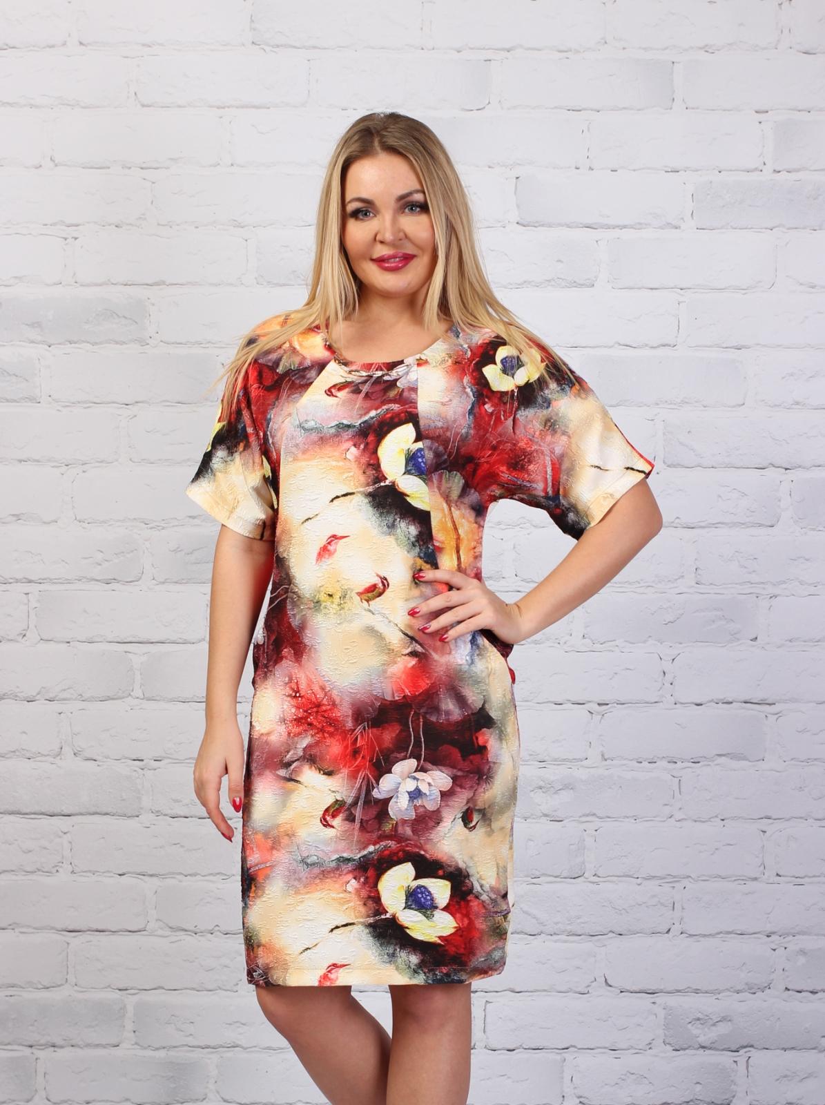 Платье из стрейча 181_PR фото