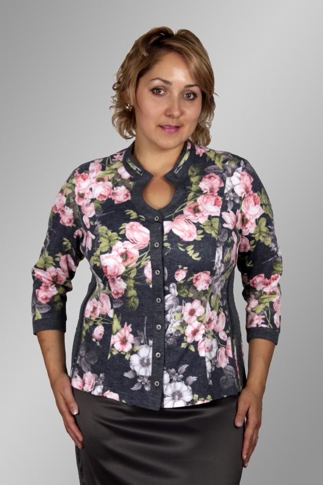 Блузка Камелия 1-2 фото