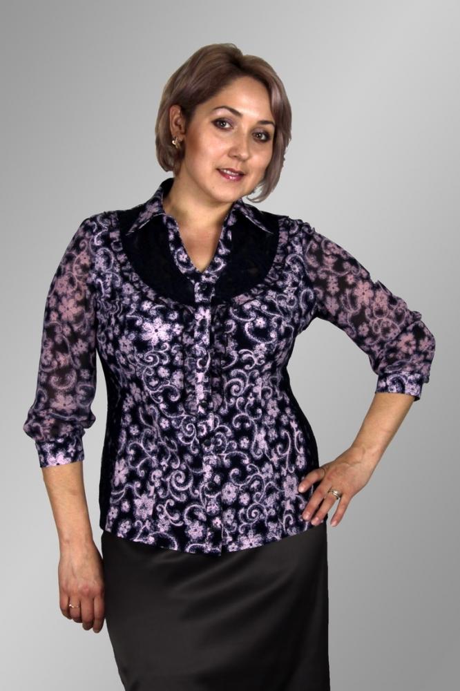 Блузка Ханна 1-9 фото