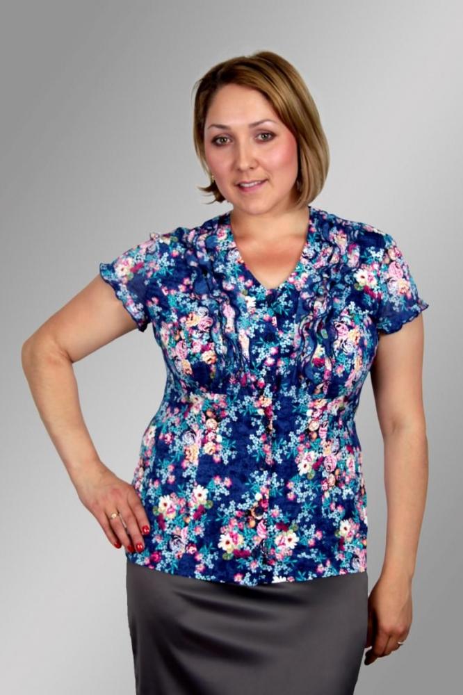 Блузка Агнес 3к-1 фото