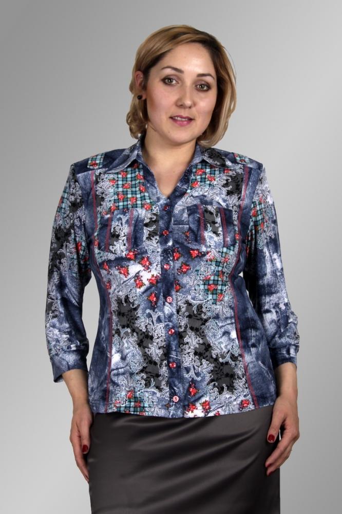 Блузка Румия 1-2 фото