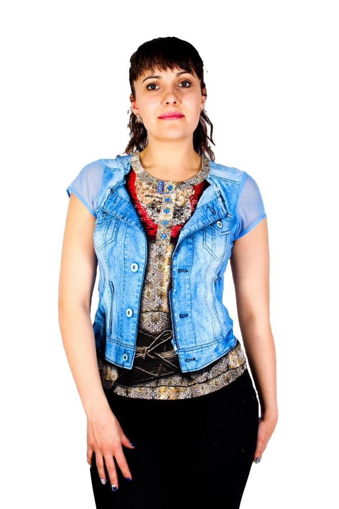 Блузка Стейси 1к-2 фото