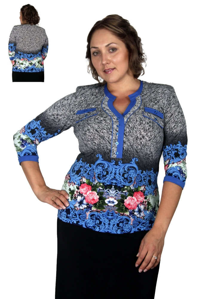 Блузка Петра 2-13 фото