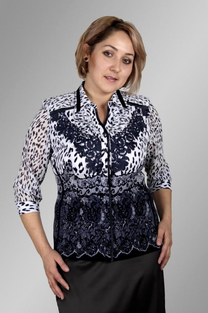 Блузка Лика 1-4 фото