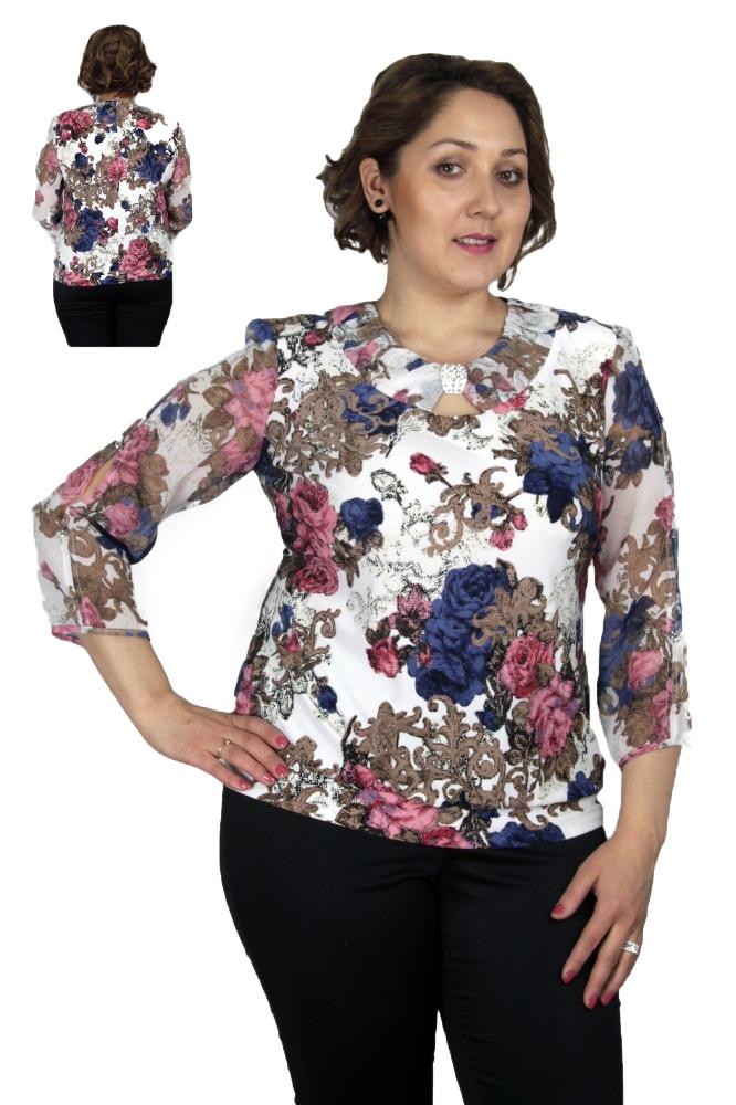 Блузка Полли 1-7 фото