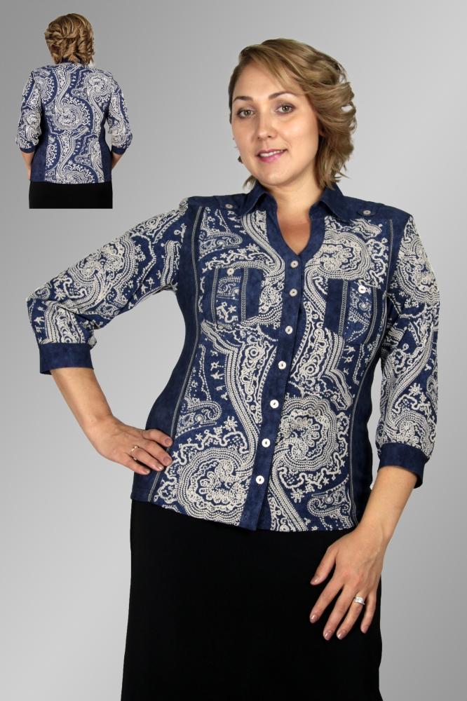 Блузка Румия 1-3 фото