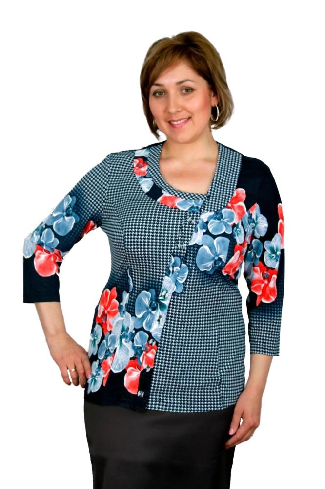 Блузка Бритни 3-2 фото