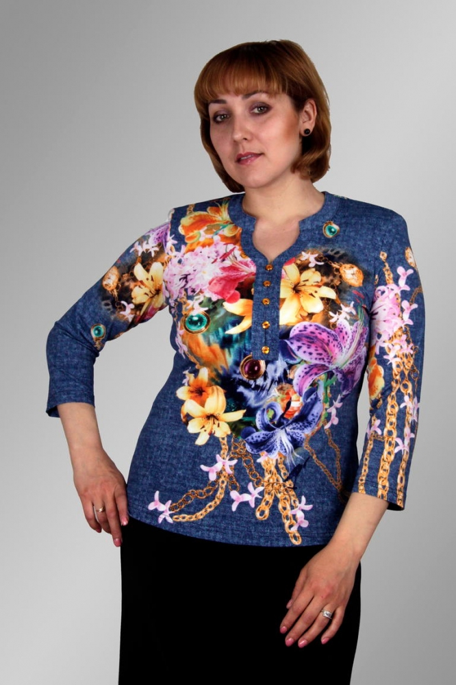 Блузка Карла 1-7 фото