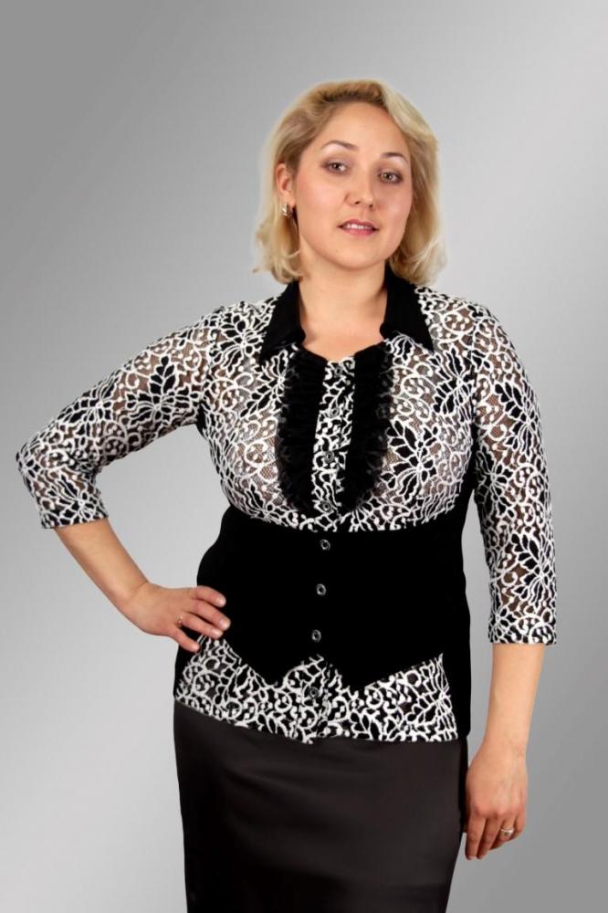 Блузка Жасмин 1-1 фото