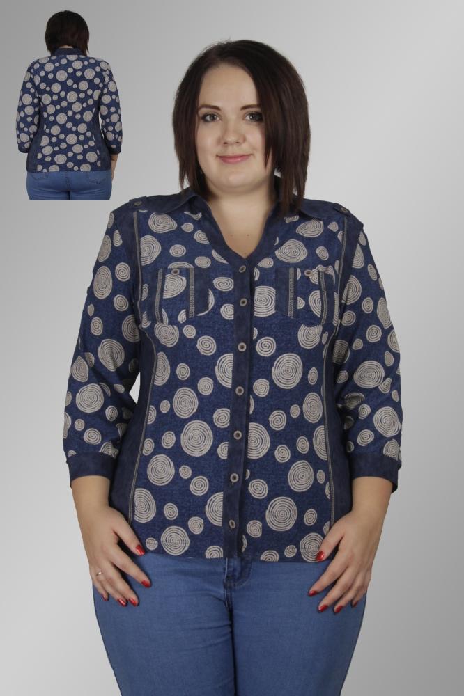 Блузка Румия 1-4 фото