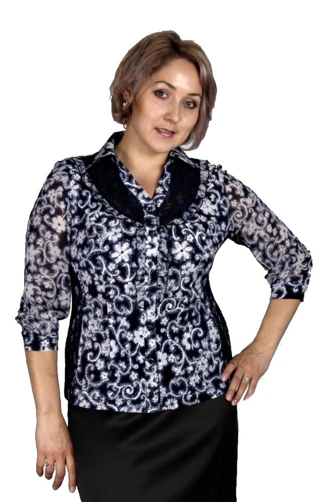 Блузка Ханна 1-8 фото
