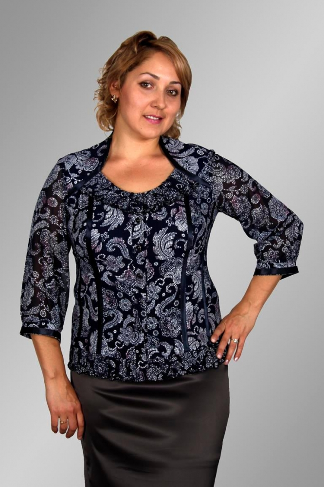 Блузка Оникс 1-15 фото