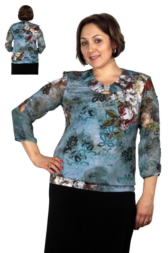 Блузка Полли 1-5 фото