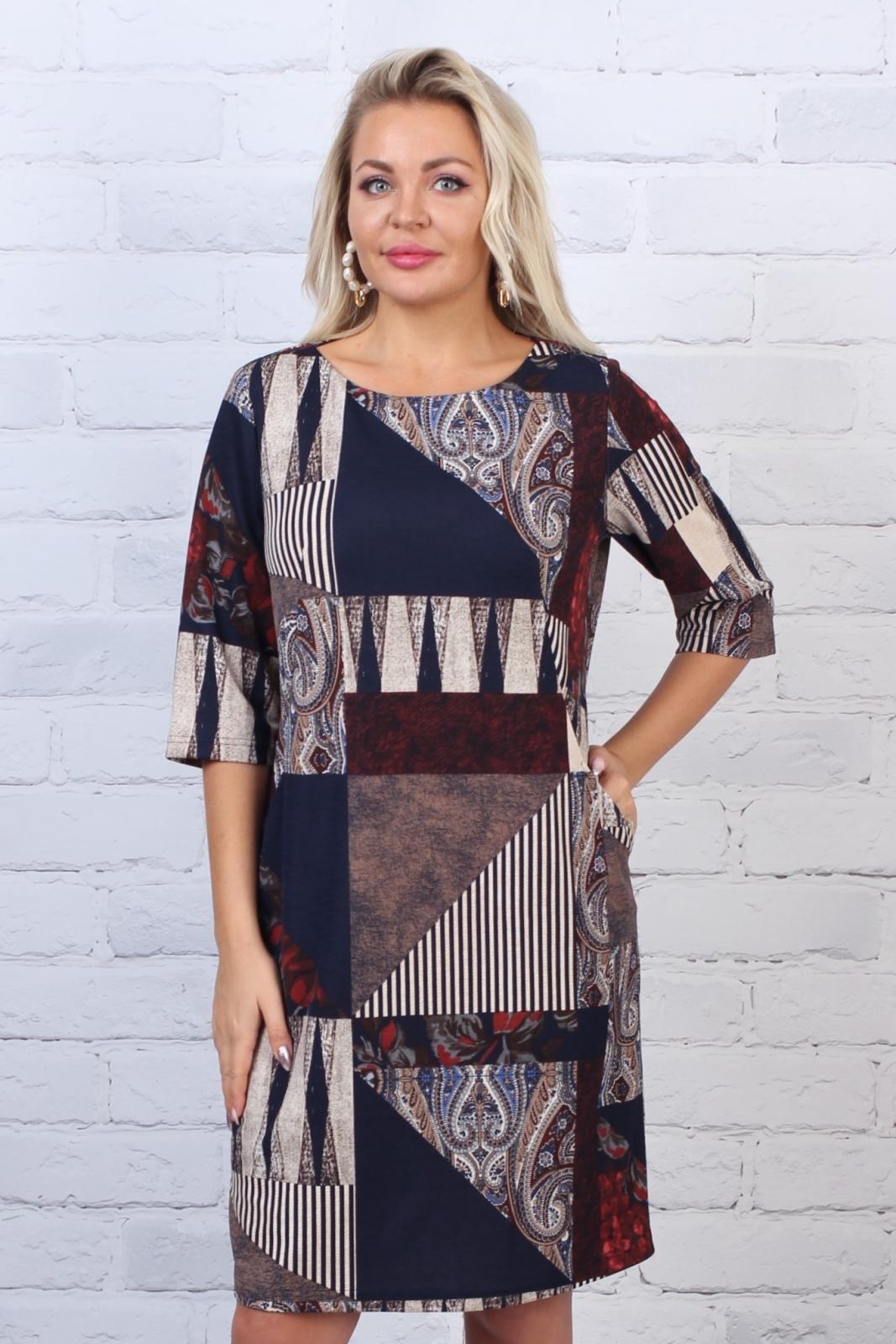 Платье трикотажное Арлет 3-49 фото