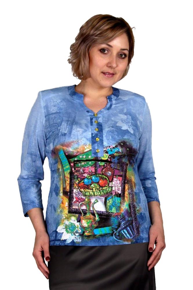 Блузка Карла 1-5 фото