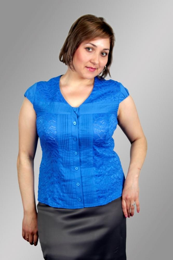 Блузка Лучана 2к-1 фото