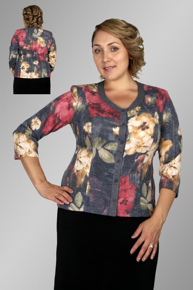 Блузка Камелия 3-1 фото