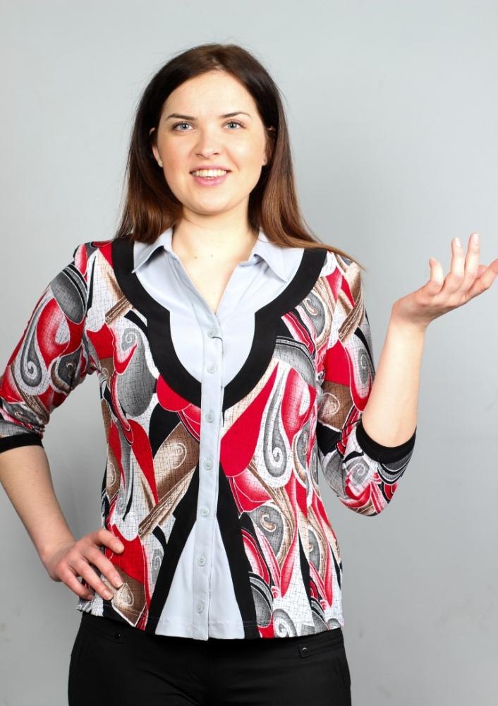 Блузка Ирма 3-7 фото