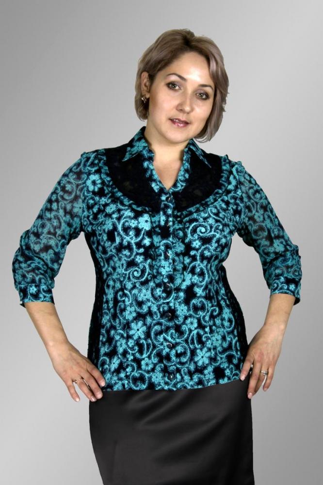 Блузка Ханна 1-6 фото