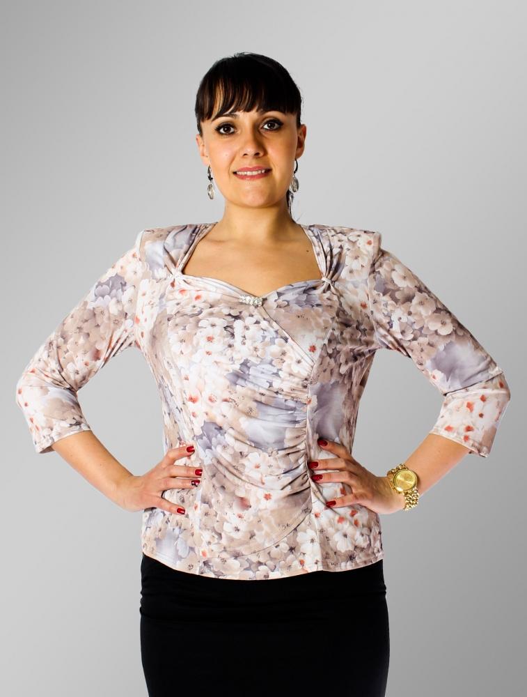 Блузка Кейт 4-5 фото