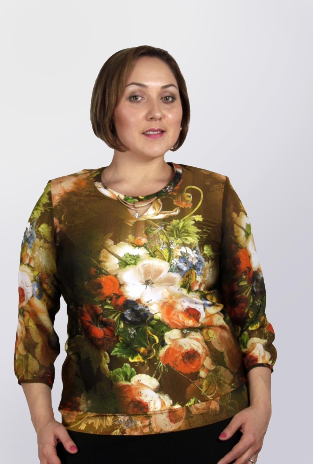 Блузка Клауди 1-2 фото