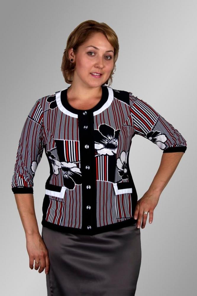 Блузка Коко 1-4 фото