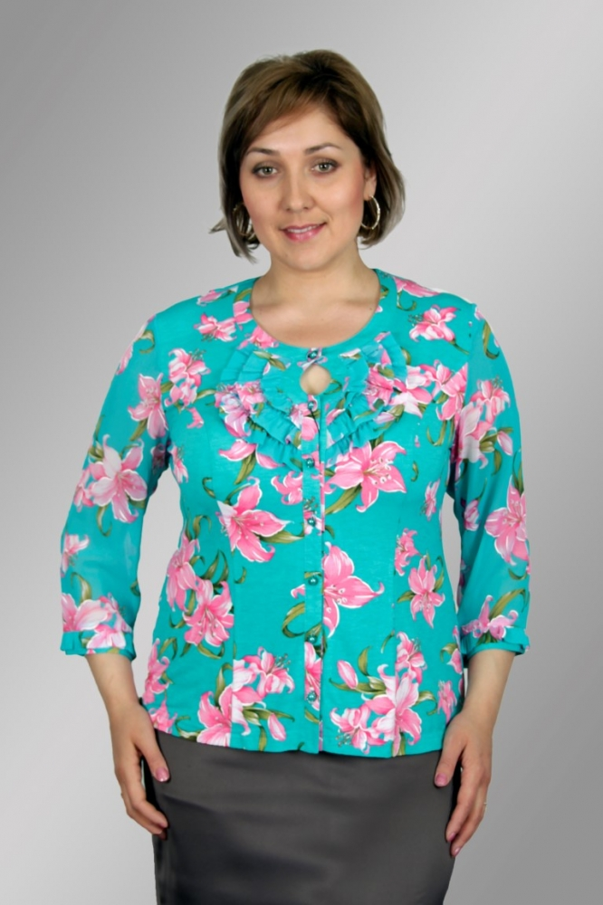 Блузка Русана 1-5 фото