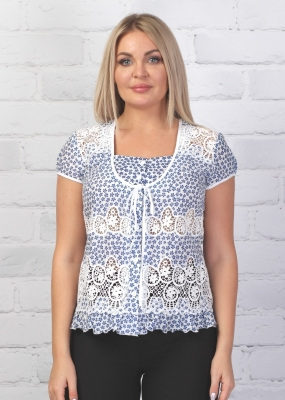 Блузка Шанель 2к-5 фото