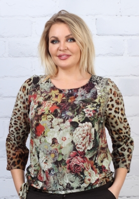 Блузка Милена 1-9 фото