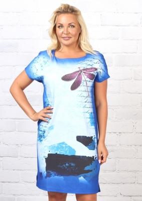 Платье трикотажное Сюита 2к-1 фото