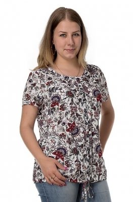 Блузка летняя Мальта 2к-12 фото
